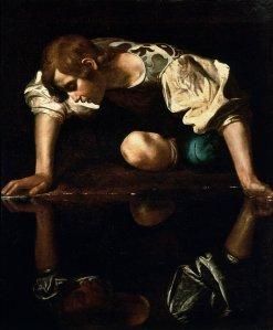 narcissus1_caravaggio