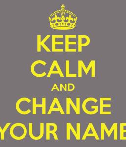 changeyourname