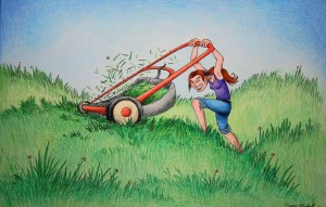 mowingthelawn