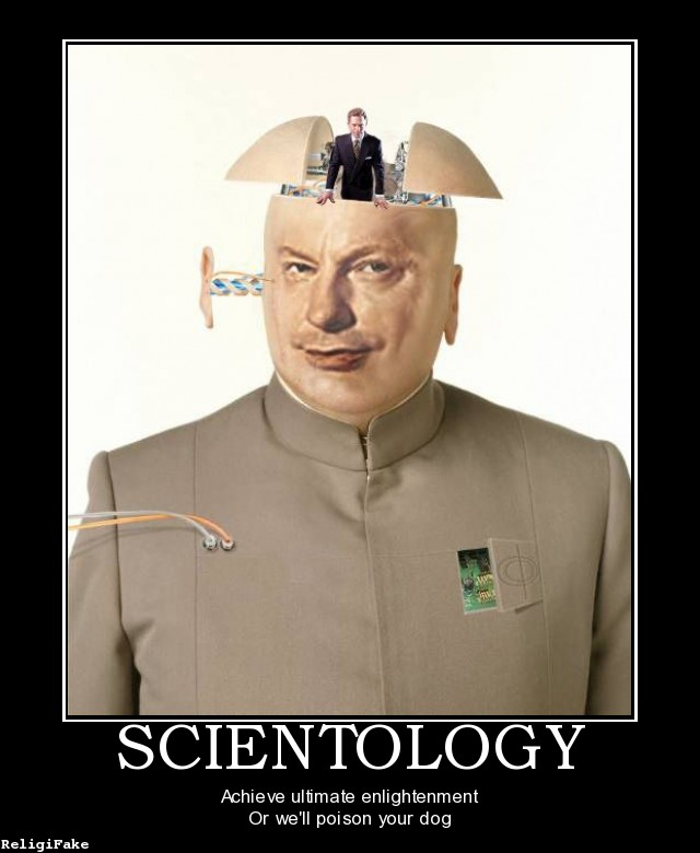 hubbard scientology a cult of psychopathy lucky otters haven