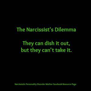 narcissist  dilema