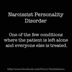 On narcissists who want to be cured  | Lucky Otters Haven