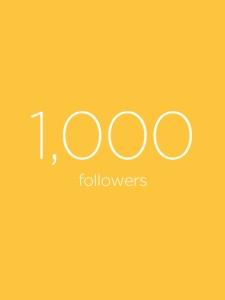1000followers1