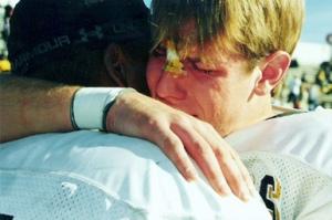 football-crying