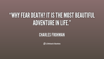 For a law of life essay how can you elaborate on the topic of fear?