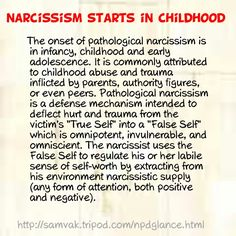 narcissism_childhood