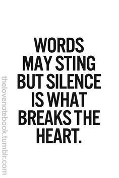 Bpd silent treatment