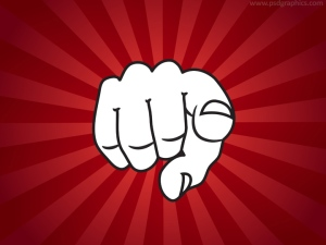finger-pointing