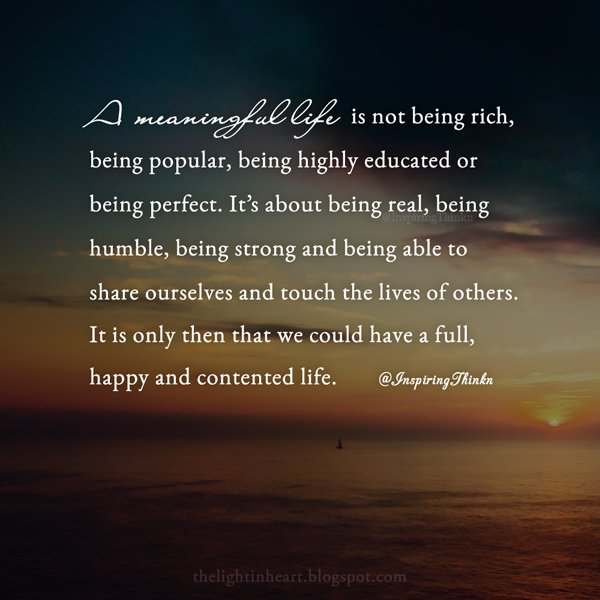 meaningfullife