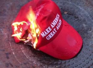 burning-trump-hat
