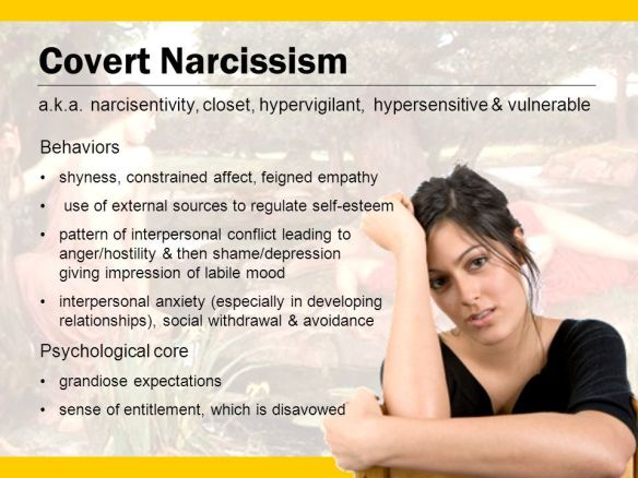 Covert Narcissist Apology